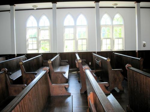 教会内部椅子
