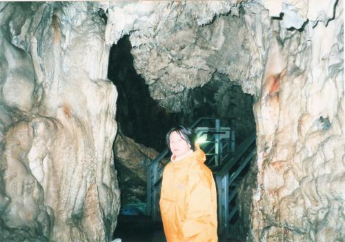 龍泉洞と私