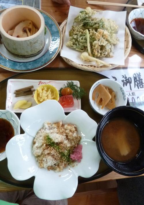 タケノコ定食