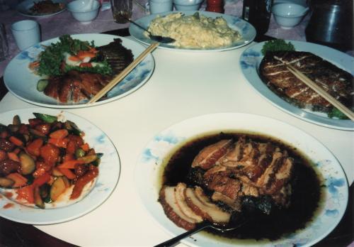 中華の晩餐