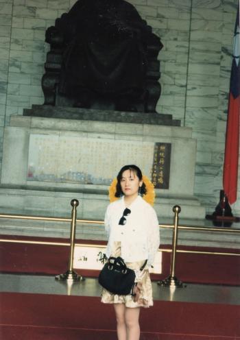 蒋介石像と私