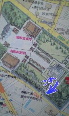 中正記念堂地図