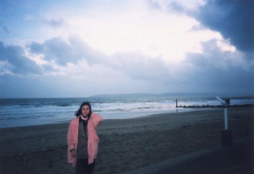 ボーンマスの海