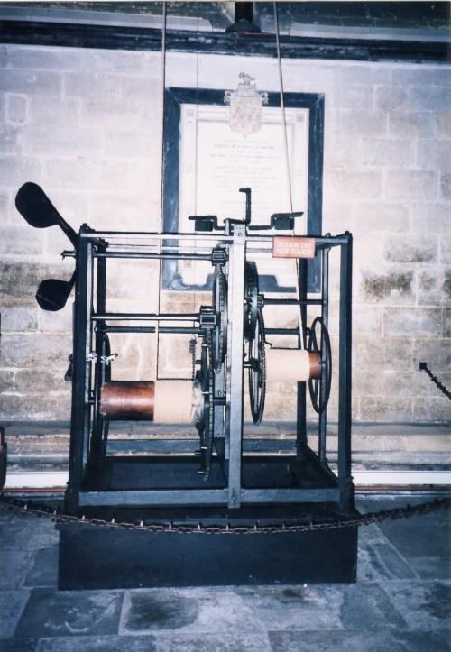 英国最古の時計