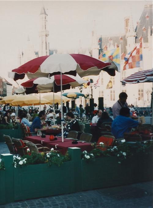 ブルージュのマルクト広場