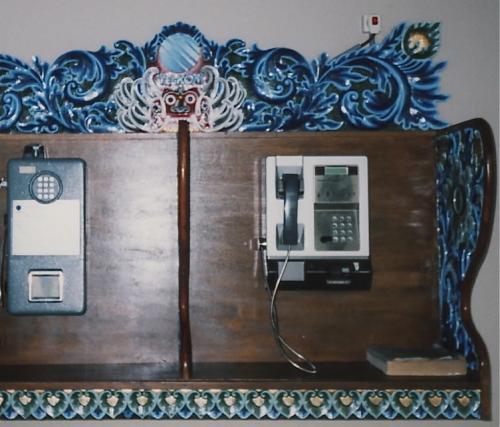 バリの公衆電話