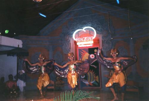 3人の踊り手