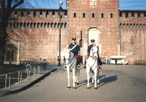 スフォルツェスコの騎馬警官