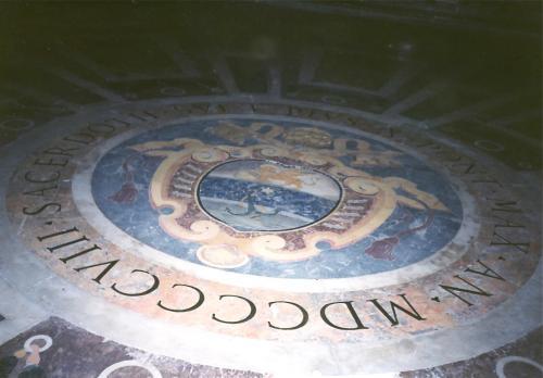 サンピエトロの床