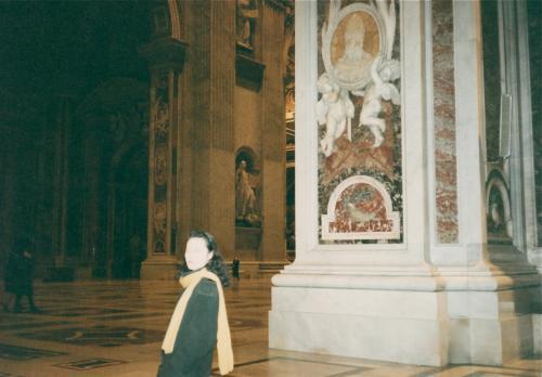 サンピエトロ寺院内
