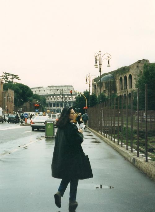 ローマの街を歩く