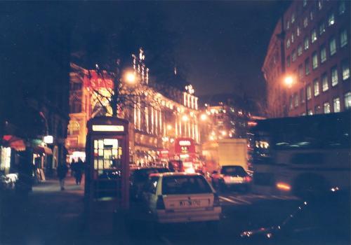 夜のロンドン