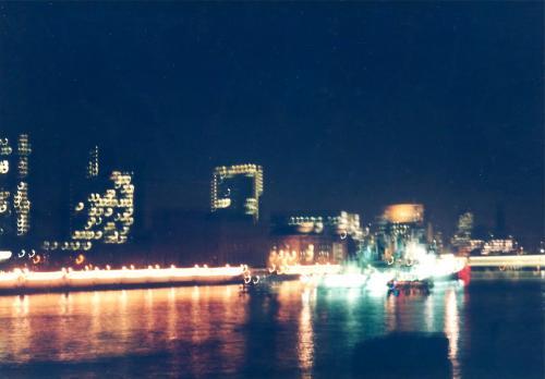夜のテムズ川