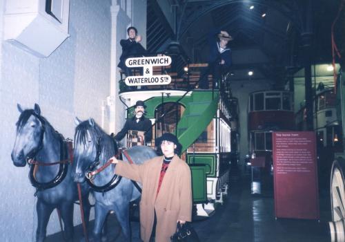 ロンドン辻馬車