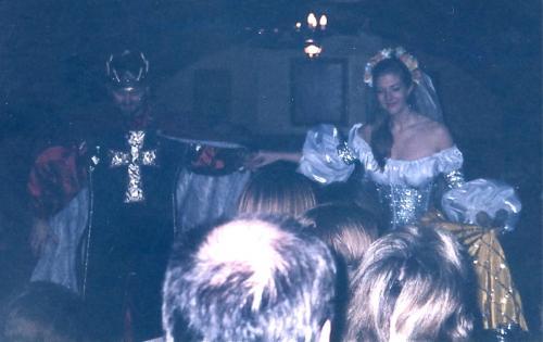 王と王妃の挨拶