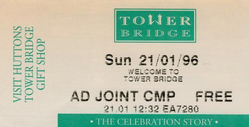 タワー入場チケット
