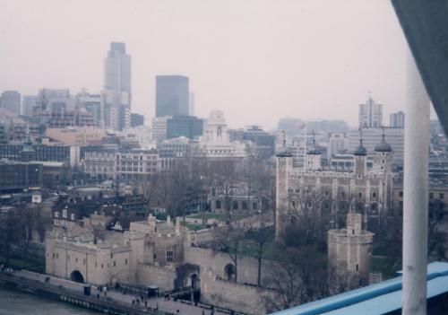 上からロンドン塔