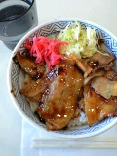 吉牛の豚丼