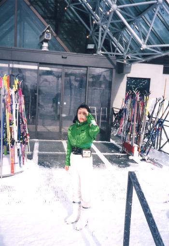 スキーセンター前