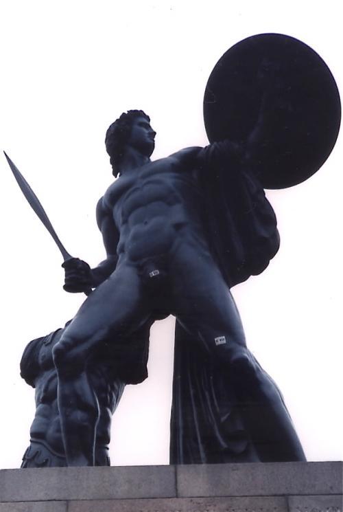アキレス像