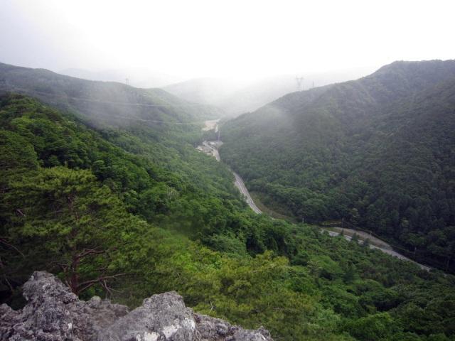 仏岩からの見晴らし