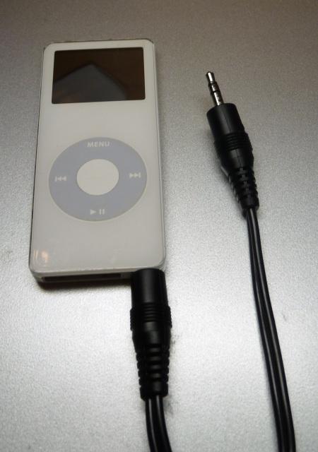 iPodとピンジャック
