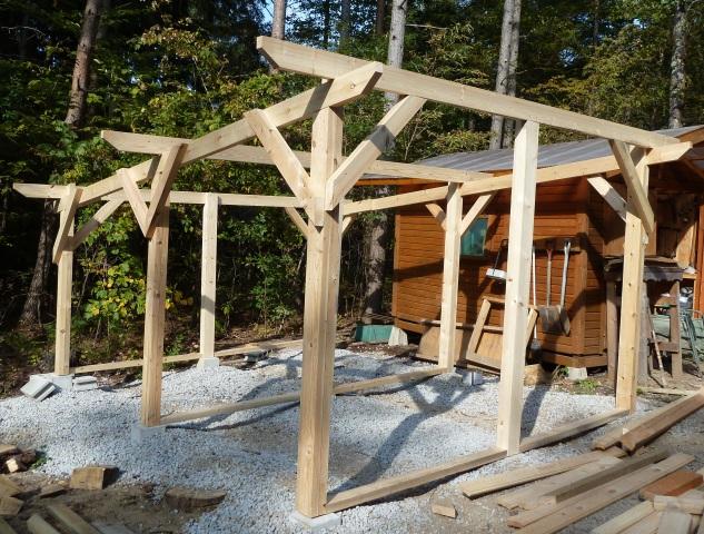 薪小屋製作