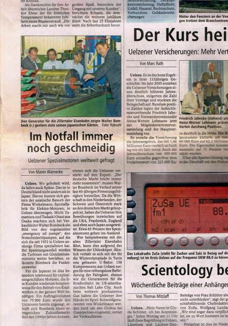 ドイツの新聞