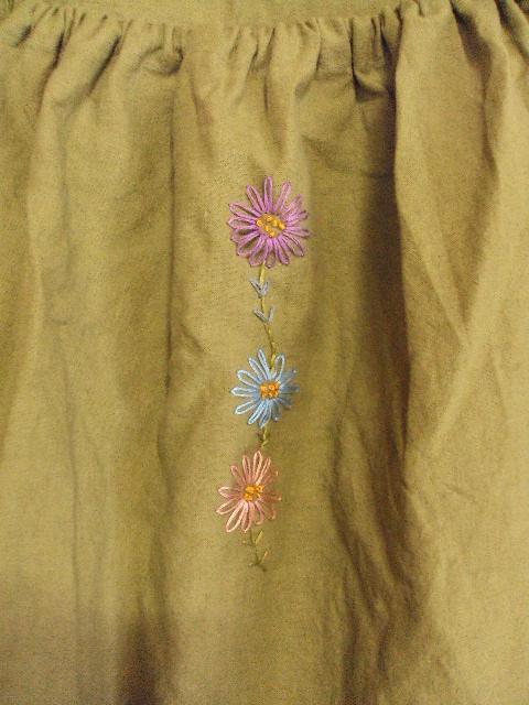 3色Daisyワンピース黄緑4