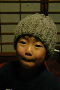 zuちゃんアラン男の子キャップ2