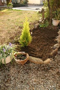 ぺこ夫作 花壇