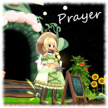 祈りのキャンドル