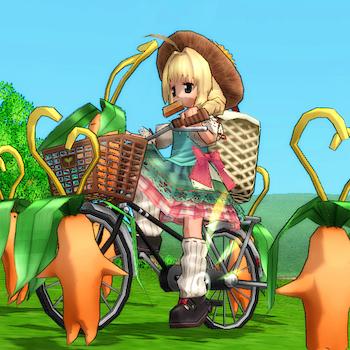 ジト目(自転車)