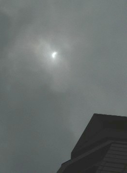 部分日食in大阪