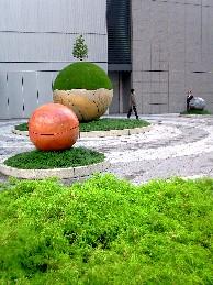 緑のオブジェ2