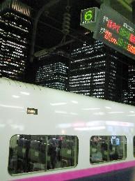新幹線ホーム
