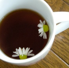 紅茶とカモミール