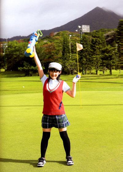 ゴルフな桃ち。