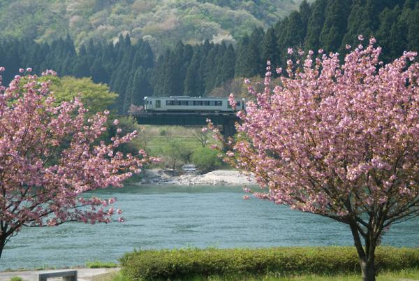 春を旅する-磐越西線
