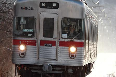 2012/1/29 長野電鉄屋代線 若穂~信濃川田