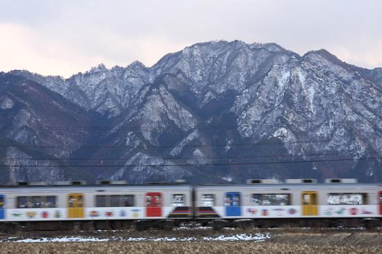 2012/1/31 上田電鉄別所線 舞田~八木沢