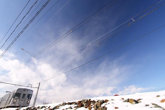 2012/1/30 長野電鉄屋代線 信濃川田駅