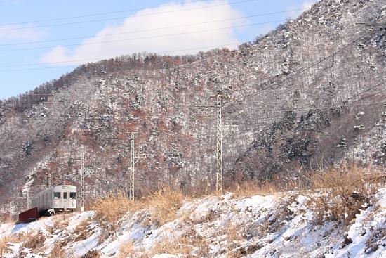 2012/1/30 長野電鉄屋代線 若穂~信濃川田