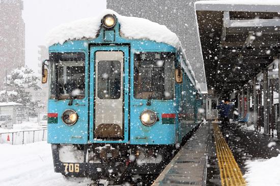 (2012/2/18 北近畿タンゴ鉄道 西舞鶴)
