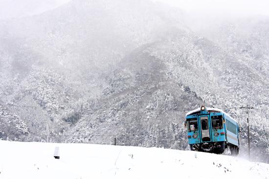 (2012/2/18 北近畿タンゴ鉄道 丹後由良)