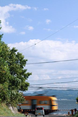 2011/8/4 一畑電車北松江線 一畑口~伊野灘