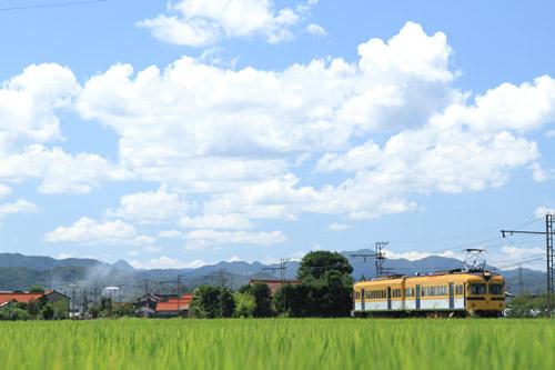 2011/8/4 一畑電車北松江線 大津町~武志