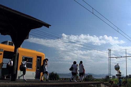 2011/8/4 一畑電車北松江線 秋鹿町
