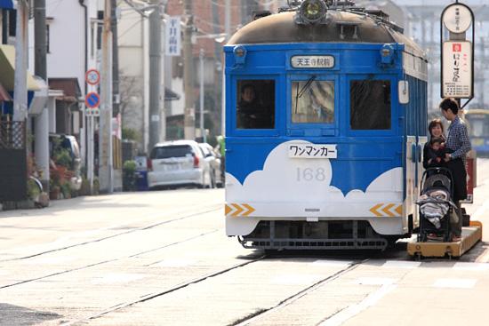 2012/1/3 阪堺電軌上町線 帝塚山三丁目