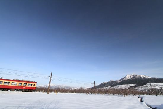 2011/2/8 長野電鉄 上条